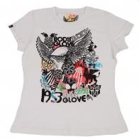 Белая футболка Body Glove с абстрактным рисунком