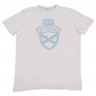 Белая футболка для спорта GF Ferre