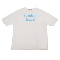 Белая футболка Fabulous Daniel