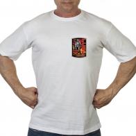 """Белая футболка """"ГСВГ"""""""