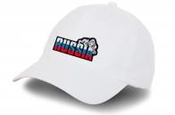 Белая кепка Russia