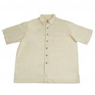 Белая рубашка Caribbean из 100% хлопка