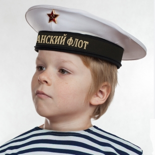 """Бескозырка """"Тихоокеанский флот"""" белая по лучшей цене"""