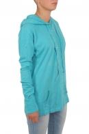 Бирюзовая кофта туника с капюшоном. Недорогая, но качественная реплика от ТМ Panhandle Slim из лакшери-сегмента молодёжной одежды