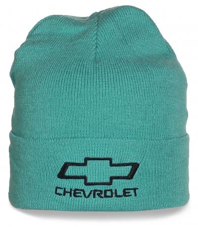 Бирюзовая шапка Chevrolet. Эксклюзив!