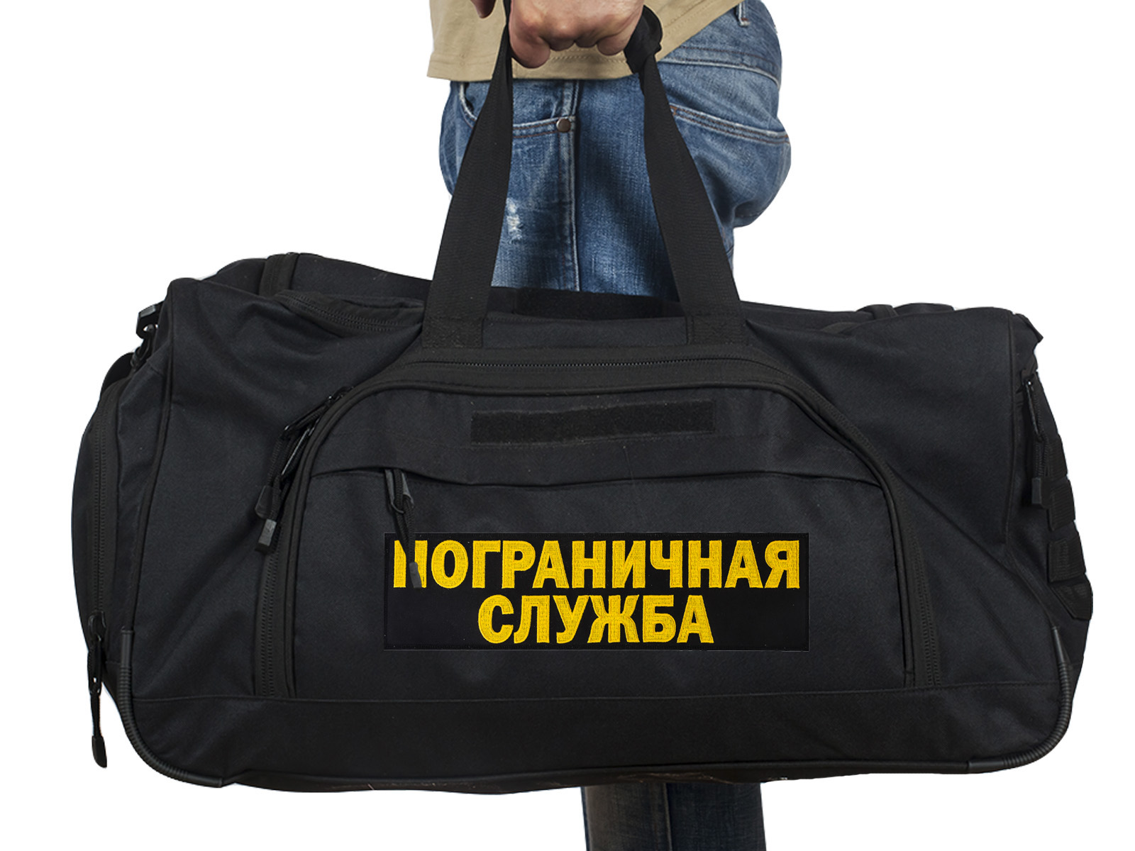 Купить большую дорожную сумку 08032B Black ПС по лучшей цене