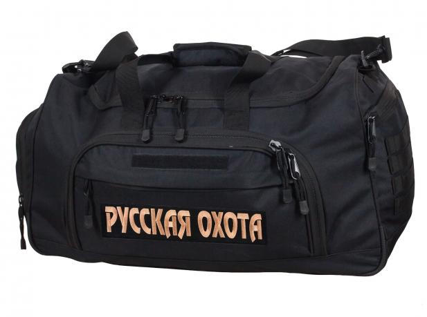 Большая дорожная сумка 08032B Black Русская Охота - купить онлайн