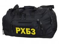 Большая тревожная сумка 08032B Black РХБЗ
