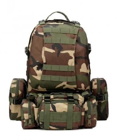 Большой тактический рюкзак хаки недорого