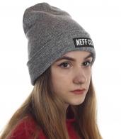 Брендовая шапка Neff современного дизайна. Стильная модель для особенных девушек. Выделяйся!
