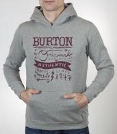 Брендовая толстовка Burton для спорта, активного отдыха и на каждый день