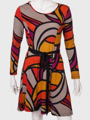 Брендовое колоритное платье от Angie,