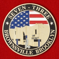 "Brooklyn's 73rd Precinct ""Fort Zinderneuf"" Challenge Coin"