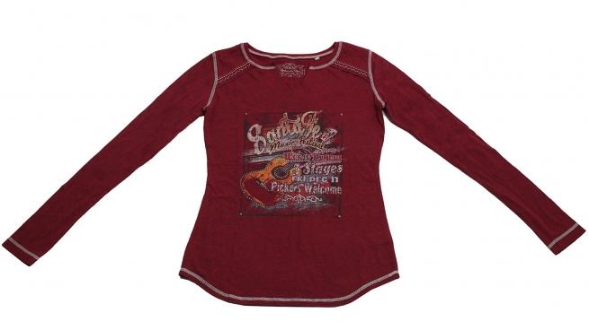 Броская бордовая кофточка Санта Фе бренда Panhandle Slim