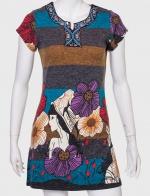 Броское платье в широкую полоску от PURPLISH LONDON