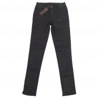 Женские брюки Pieces с рисунком-отпечатком.