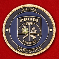 Bureau of Narcotics Bronx New York City Police Department Challenge Coin