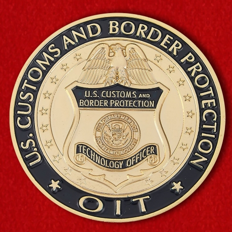 "Challenge Coin ""Customs and Border Protection US in  Miami"""