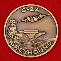"Challenge Coin ""Deck aircraft Grumman C-2 Greyhound"""
