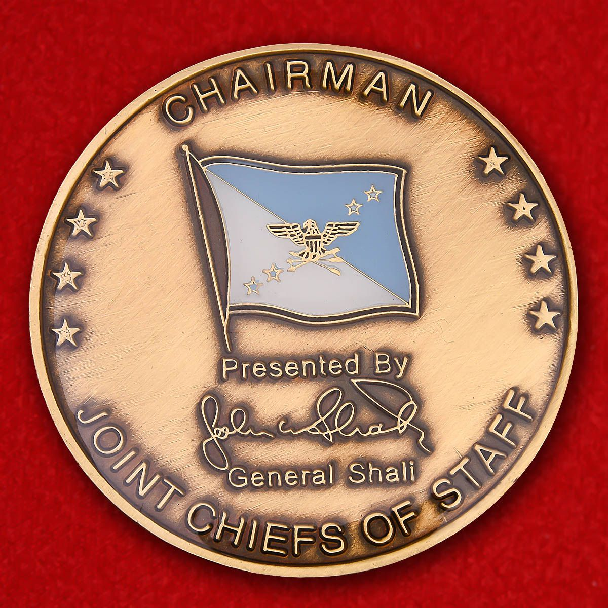 "Challenge Coin ""From the chairman of the Joint Chiefs of Staff"""