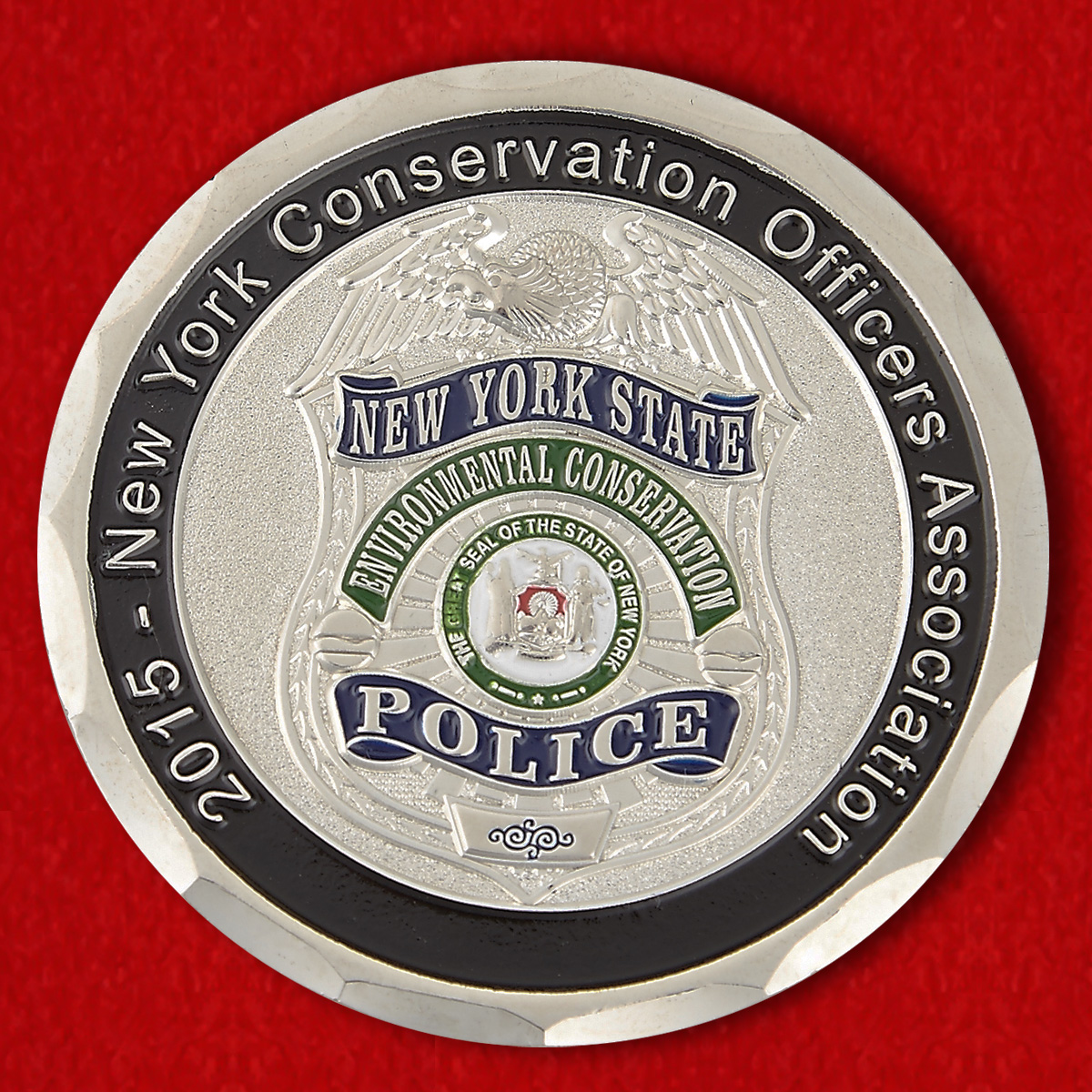 "Challenge Coin ""New York Conservation Officers Association"""
