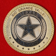"Challenge Coin ""Operation Border Star in the Rio Grande Valley"""