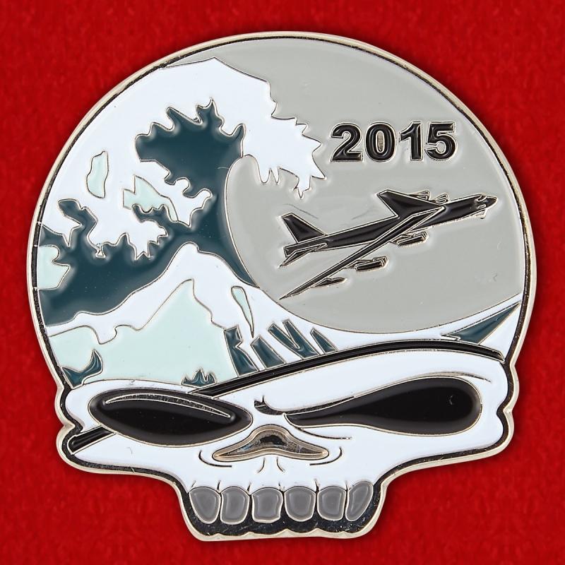 Челлендж коин 20-й экадрильи бомбардировщиков Командования глобальных ударных сил ВВС США - аверс