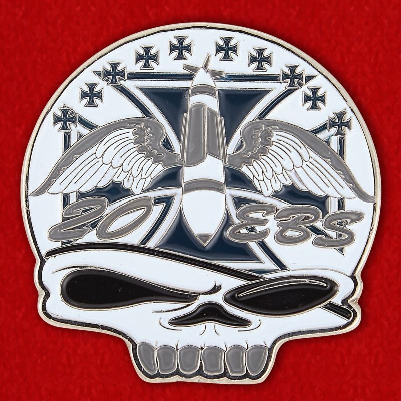 Челлендж коин 20-й экадрильи бомбардировщиков Командования глобальных ударных сил ВВС США - реверс