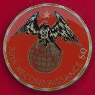 Челлендж коин 30-й разведывательной авиационной эскадрильи ВВС США