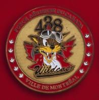 """Челлендж коин 438-й тактической вертолетной эскадрильи """"Монреаль"""" Королевских ВВС Канады"""