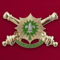 Челлендж коин дивизиона полевой артиллерии 2-го кавалерийского полка Армии США