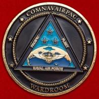 Челлендж коин командования морской авиации Тихоокеанского флота ВМС США