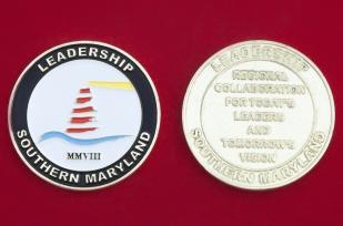 Челлендж коин Программы развития и подготовки специалистов-управленцев в Южном Мериленде, США