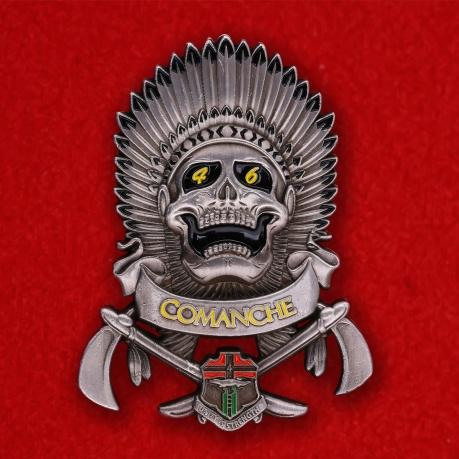 "Челлендж коин ""Сержанту 4-го батальона 6-го Пехотного полка Армии США"""
