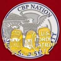 Челлендж коин Службы таможенного и пограничного контроля Министерства внутренней безопасности США