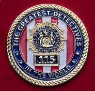"""Челлендж коин сотрудников 115-го участка полиции Нью-Йорка """"Рыцари высот"""""""