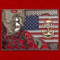 "Челлендж коин старшин ВМС США ""Будь героем!"""