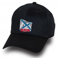 Черная бейсболка с символикой ВМФ