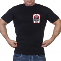 Черная футболка Член семьи погибшего участника ВОВ