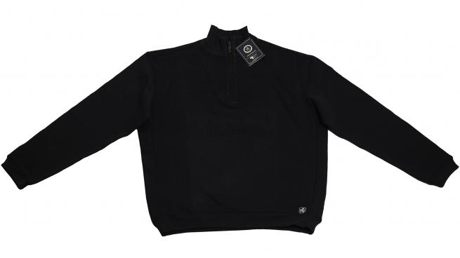Черная кофточка-поло с молнией от Nat Nast. Эксклюзивная модель по лояльной цене!