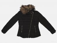 Черная осенне-зимняя женская куртка Pimkie (Франция)