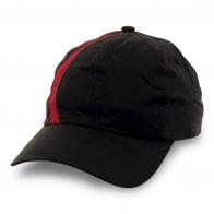 Черно-красная бейсболка Boss отличного качества
