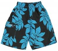Черно-синие шорты Sopiple