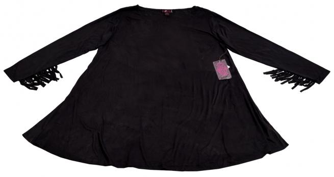 Черное платье модного силуэта от Rock&Roll CowGirl супер-модная модель