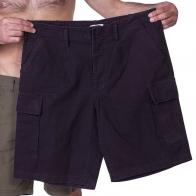 Черные мужские шорты карго от MIL TEC купить по выгодной цене