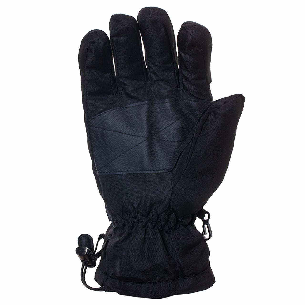Черные перчатки для зимнего спорта (на флисе) заказать в Военпро