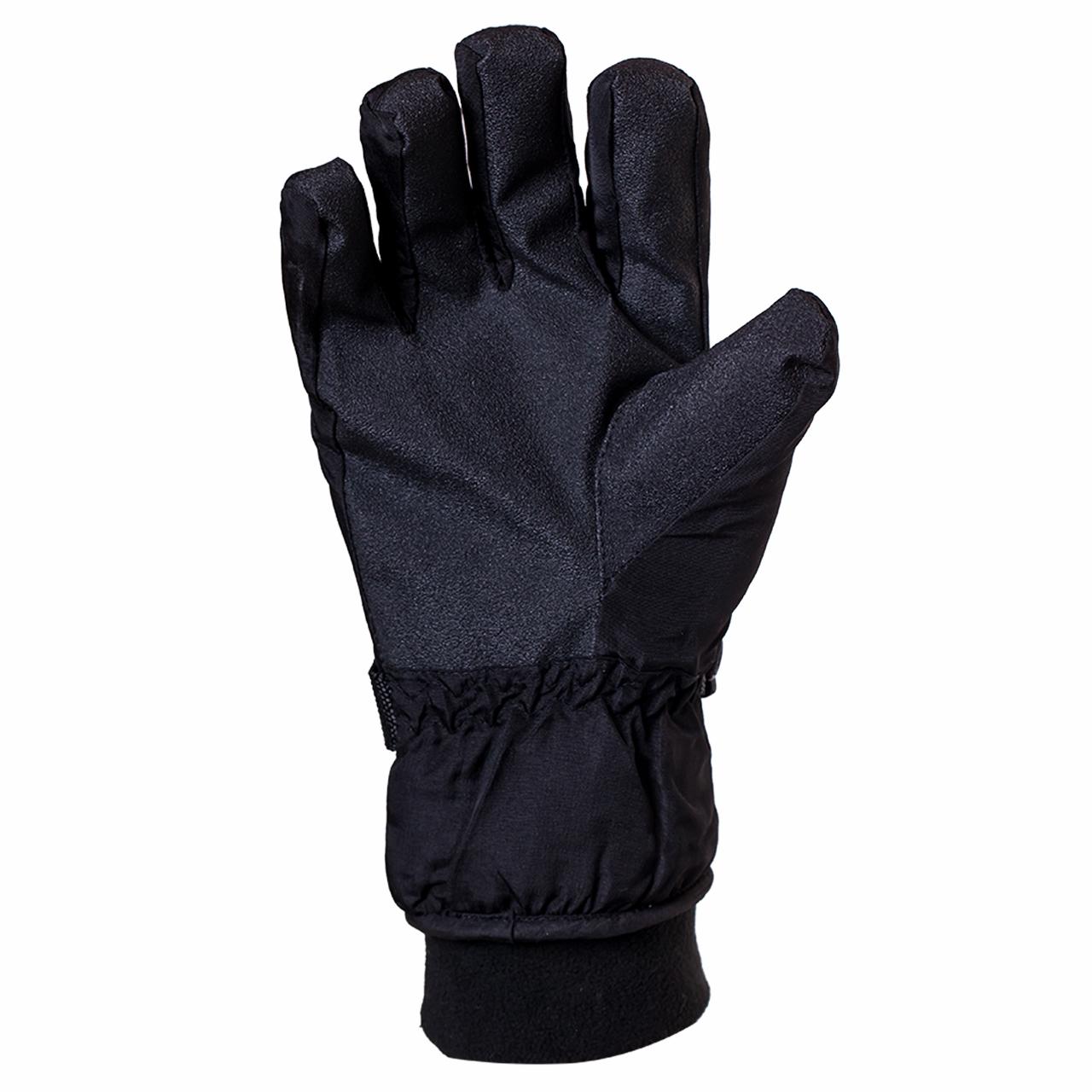 Черные спортивные перчатки на флисе и тинсулейте заказать в Военпро