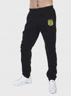 Черные утепленные спортивные штаны ВКС купить в Военпро