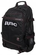 Черный городской рюкзак с нашивкой ДПС - купить выгодно