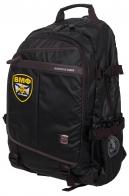 Черный городской рюкзак с нашивкой ВМФ